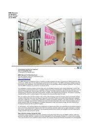 MMK Museum für Moderne Kunst, Frankf urt am Main - MC-link