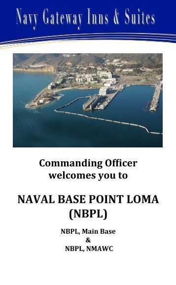 NBPL NGIS Welcome Book - Navy Region Southwest