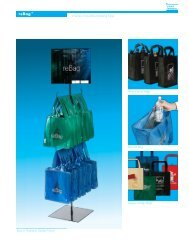 A series of reusable shopping bags. Easy to Assemble Display ...