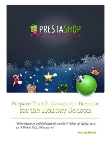 downloading PrestaShop's FREE merchant guide to the 2012