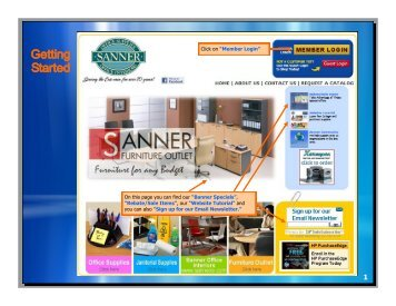 Website Tutori - Sanner Office Supply Company, Inc.