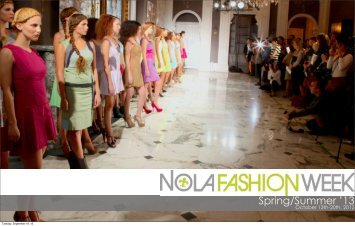 Spring/Summer '13 - NOLA Fashion Week