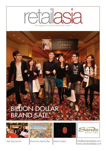 BILLION DOLLAR BRAND SALE - The most dynamic retail space in ...