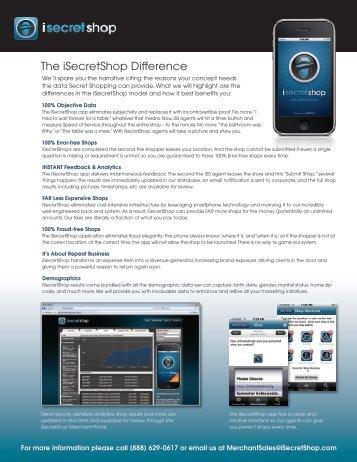 iSecretShop For Your Business - PRWeb