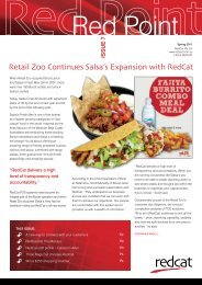 Retail Zoo Continues Salsa's Expansion with RedCat - RedCat Pty Ltd