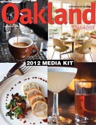 Print Media Kit - Oakland Magazine