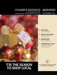 t'is the season to shop local - Hilton Head Island Chamber of ...