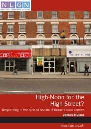 High-Noon for the High Street? - New Local Government Network