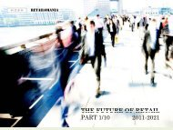 THE FUTURE OF RETAIL PART 1/10 2011-2021