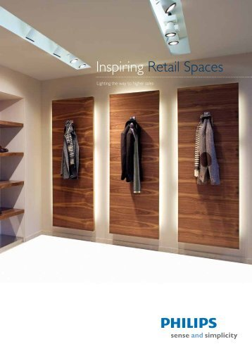 Inspiring Retail Spaces - Philips Lighting Central America