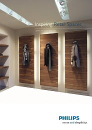Inspiring Retail Spaces - Philips Lighting