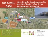FOR LEASE / SALE - Central Realty