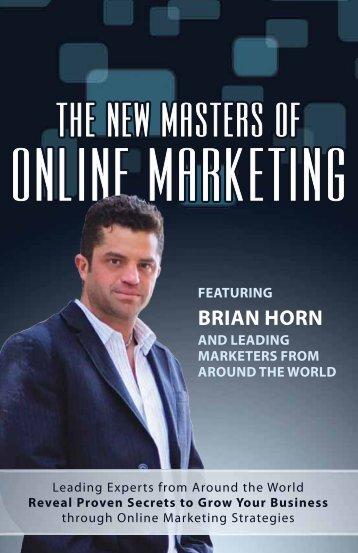 BRIAN HORN - Amazon Web Services