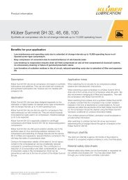 Klüberalfa® YM 3-30 Spray - Klüber Lubrication
