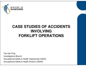 case studies of accidents involving forklift operations