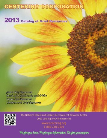 Click here to download PDF Catalog - Centering Corporation