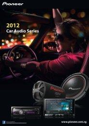 Car Audio 2012 - Pioneer