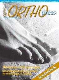 Moderne Fußchirurgie - Dr. Hermann Richter