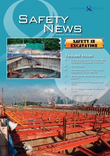 Issue 19, March 2011 - Land Transport Authority