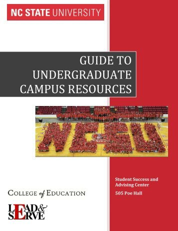 Guide to Undergraduate Campus Resources - College of Education ...