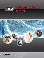 Wireless Network Testing - Ixia