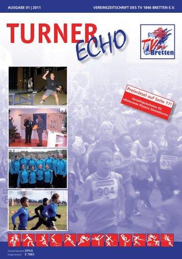 Turner Echo 01 | 2011 - Turnverein 1846 Bretten e.V.