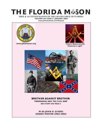 the florida mason - january 2004 - Boynton Masonic Lodge No. 236