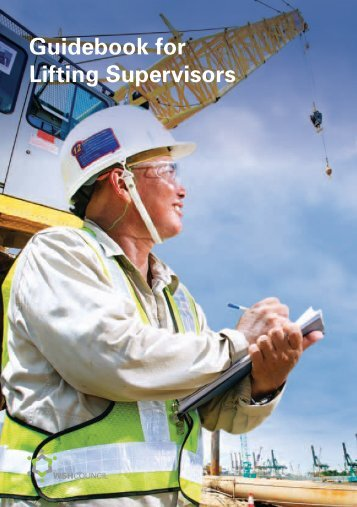Guidebook for Lifting Supervisors - Workplace Safety and Health ...