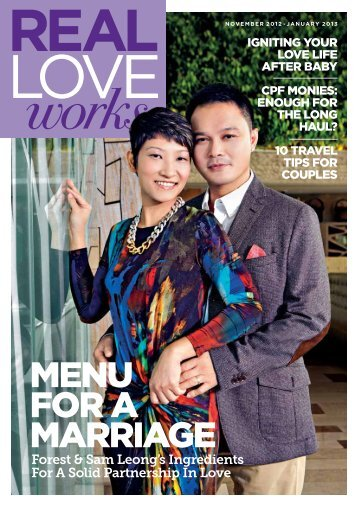 New issue of Real Love Works is here - Marriage Central