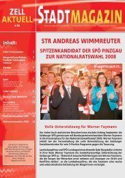 Downloaden - SPÖ Zell am See