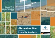 Locality Analysis - South Gippsland Shire Council