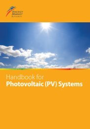 Handbook for Photovoltaic (PV) Systems - Energy Market Authority