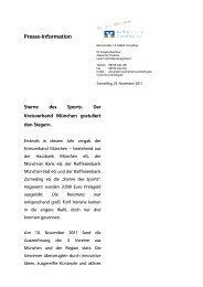 Sterne des Sports - Raiffeisenbank Zorneding eG