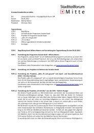 Protokoll der Sitzung am 9. Februar 2012