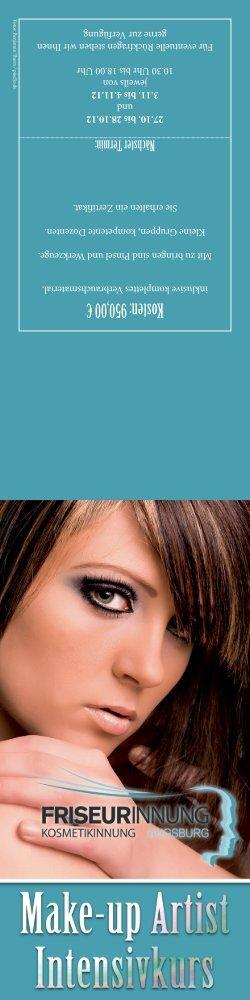 Flyer Make-up Artist 2012.indd - Friseurinnung Augsburg