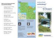 ostseebad für Gruppen Anreise-Tipps schönberg*