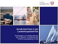 PowerPointvorlage der Stadt Kiel - BV Schleswig-Holstein - DVWG