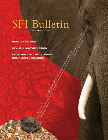 SFI Bulletin - Santa Fe Institute