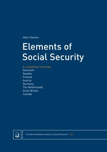 Elements Of Social Security - SFI
