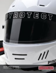RACING SAFETY EQUIPMENT PRODUCT CATALOG ... - Pyrotect
