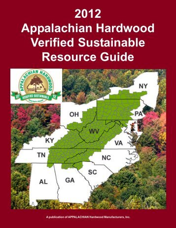 2012 Appalachian Hardwood Verified Sustainable Resource Guide