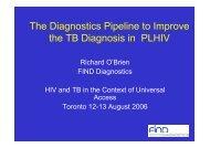 FIND Diagnostics - World Health Organization