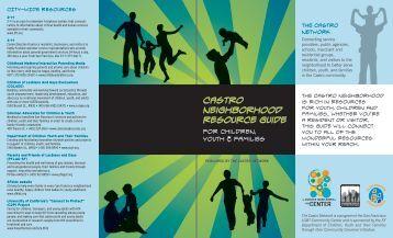 Castro Neighborhood Resource Guide - Y.Day Designs