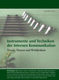 Instrumente und Techniken der Internen Kommunikation - ICOM