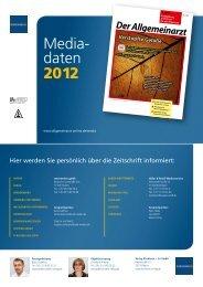 Media- daten 2012 - Media - Der Allgemeinarzt