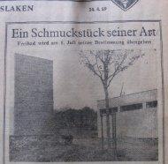 Zeitungsartikel hier klicken - FV-Freibad-Voerde