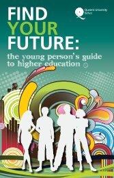 Find Your Future PDF - Queen's University Belfast