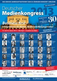 Deutschen Medienkongress 2013 - United Internet Media