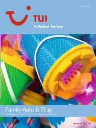 TUI - Schöne Ferien: Family Auto & Flug - Sommer 2010 - TUI.at