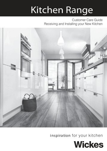 Kitchen Range - Wickes